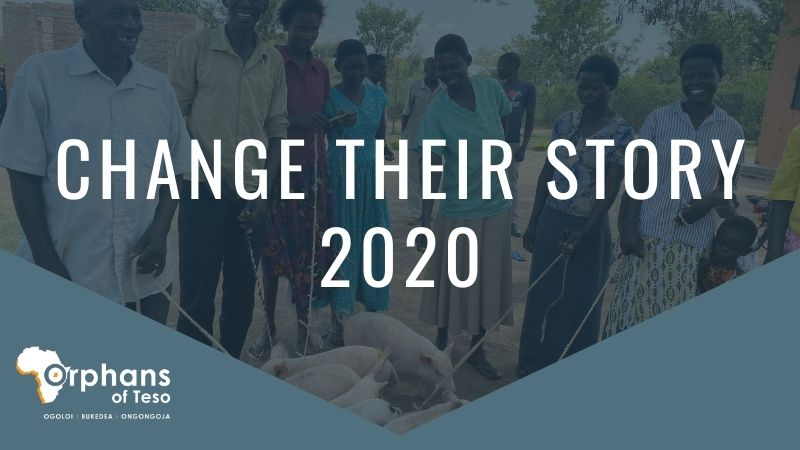 Orphans of Teso Launches 2020 'Change Their Story' Campaign