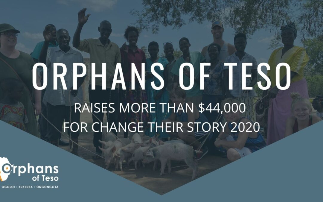 Orphans of Teso Raises More Than $44,000 for 2020 'Change Their Story' Campaign